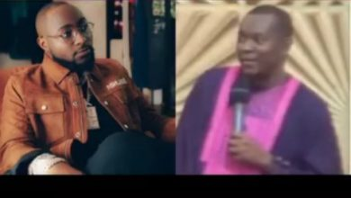 """Photo of """" One Of Davido's Boys Will Poison Him """" Says Nigerian Pastor  ( Check Video )"""
