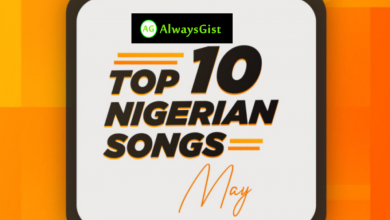 Photo of Top 10 Nigerian Songs Of The Month ( May )