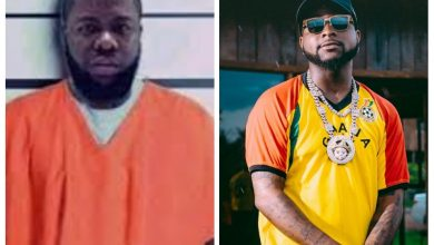 Photo of Davido Goes Live Instagram Video With Hushpuppi In Prison ( Check Video )