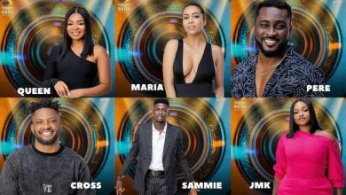 Photo of Sammie, Jmk And Maria Evicted Big Brother Naija From