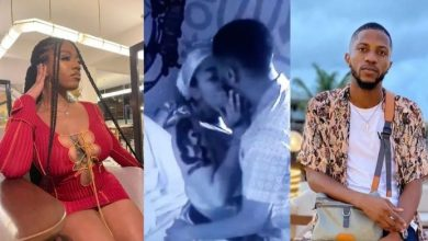 Photo of BBNAIJA : The New Housemate, Kayvee Kissies Angel On 1st Day He Arrived ( See Video )